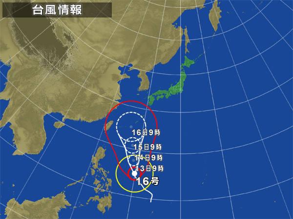 今年は台風が少ない